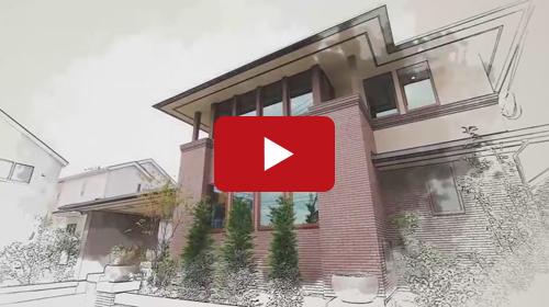 新築物件や賃貸物件の内観、外観を動画で紹介します。