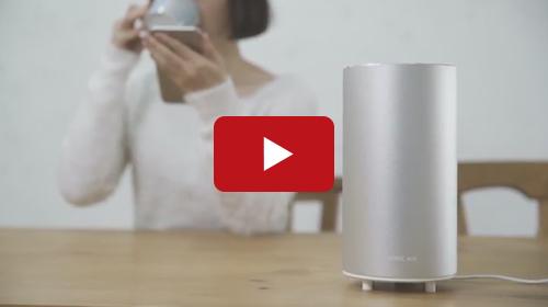 デュフューザーのある生活をイメージさせる商品紹介動画です。