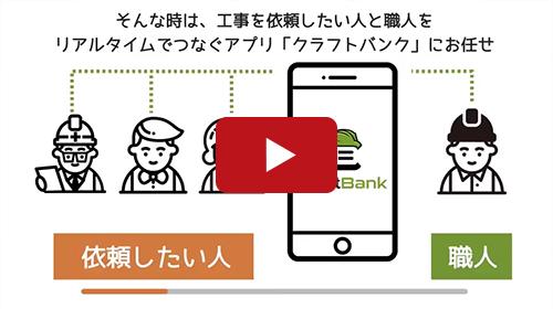 アプリサービス紹介動画事例