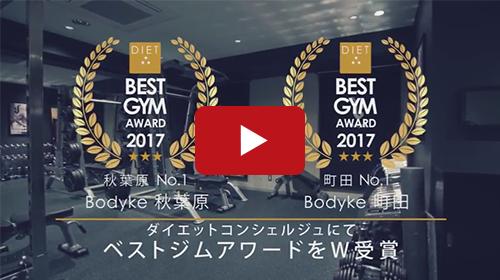 ジムトレーニングサービス紹介動画事例